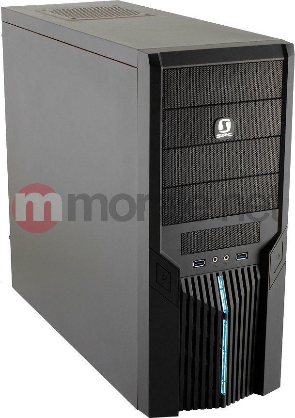 Obudowa SilentiumPC Brutus 430 Pure Black USB3.0 ATX/SSD ready/120+120mm bez zasilacza (BT-430) 1