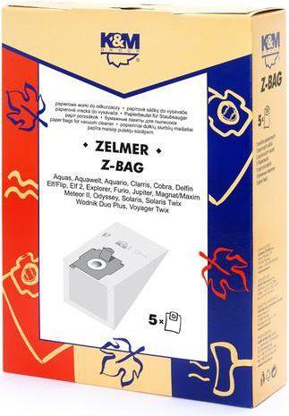 Worek do odkurzacza K&M Z-BAG (5) Worek papierowy 1