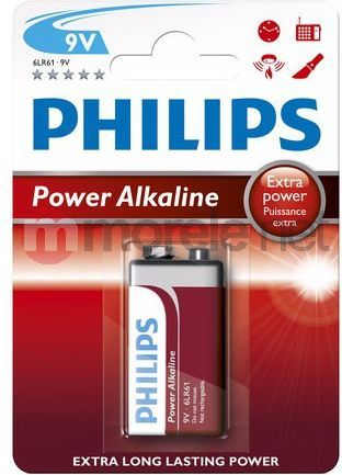 Philips Bateria PowerLife 9V Block 1szt. 1