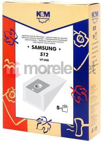 Worek do odkurzacza K&M Worki SAMSUNG S12 (5) 1