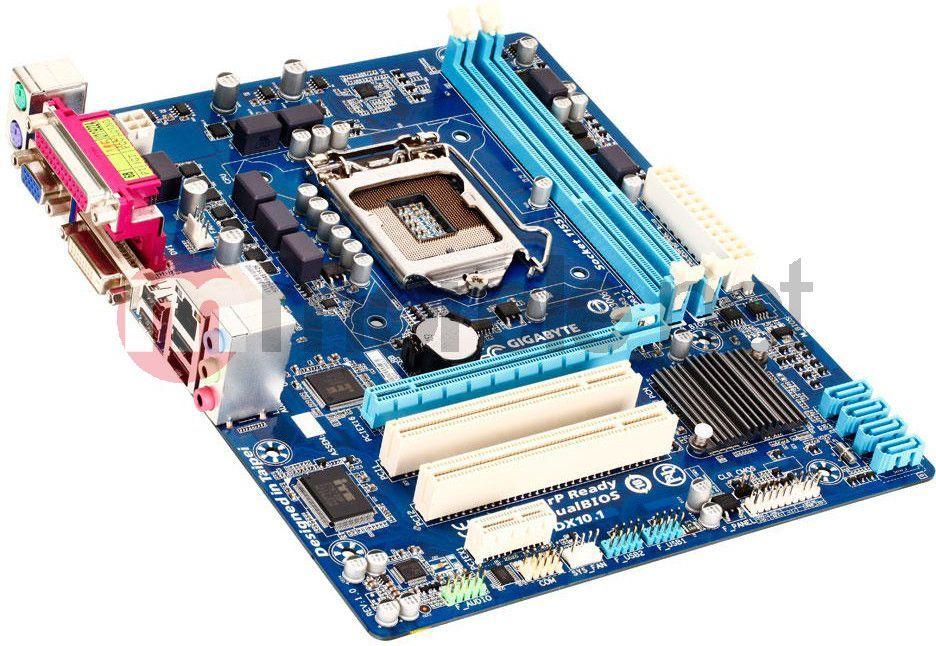 Płyta główna Gigabyte GA-H61M-S2PV, H61, DualDDR3-1333, 4xSATA2, D-SUB, DVI-D, mATX (GA-H61M-S2PV) 1