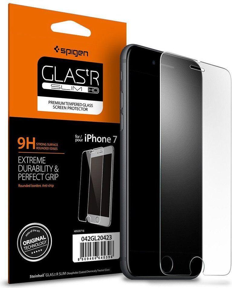 Spigen szkło hartowane slim dla Iphone 7/8 1