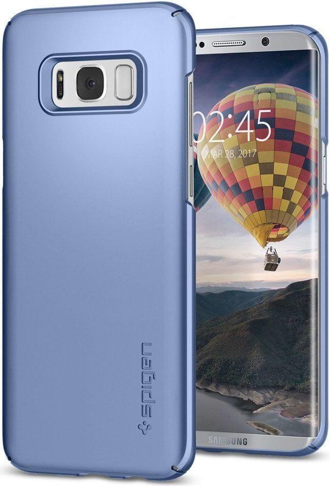 Spigen Etui Thin Fit do Galaxy S8+ plus Blue Coral 1