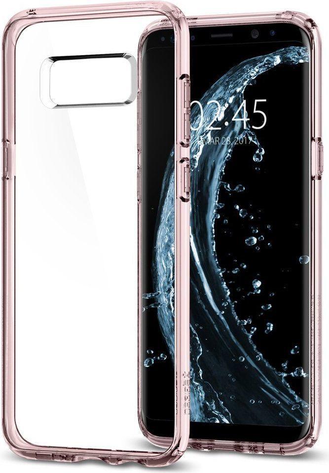 Spigen Etui Ultra Hybrid Galaxy S8+ plus Crystal Pink 1