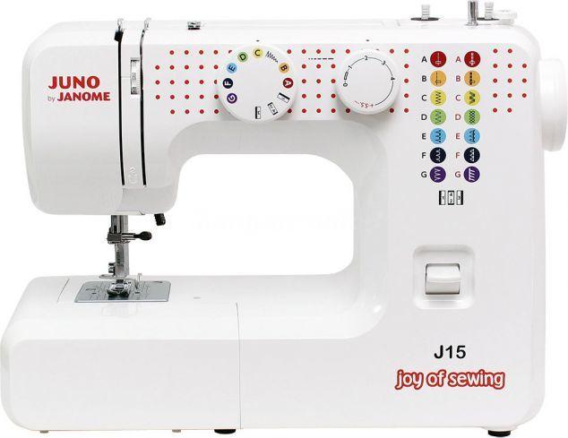 Maszyna do szycia Janome JUNO J15 1