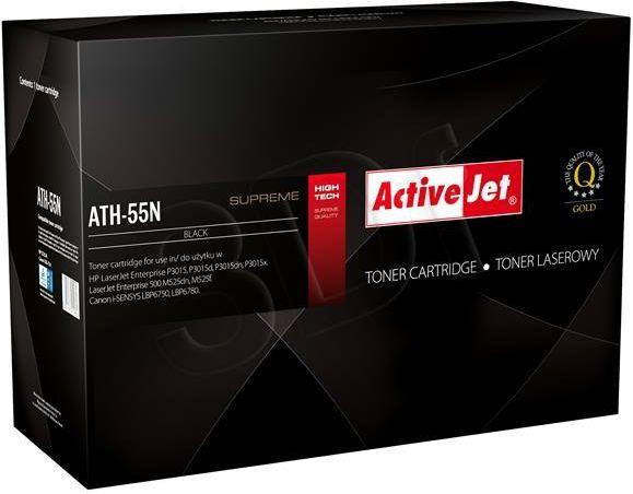 Activejet toner ATH-55N / CE255A (black) 1