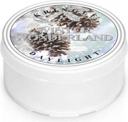 Kringle Candle Świeczka zapachowa Daylight Winter Wonderland 35g 1