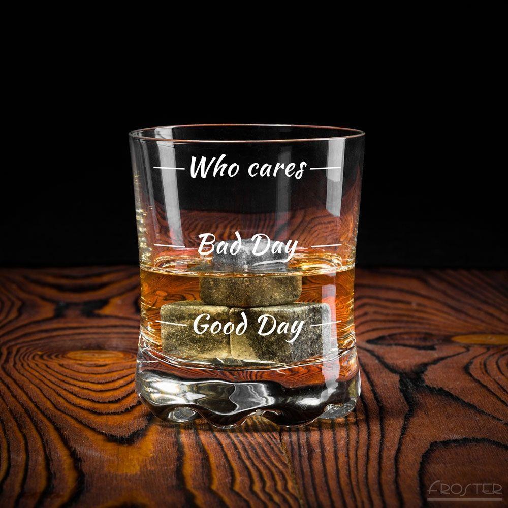 Froster Szklanka do whisky Who cares 1