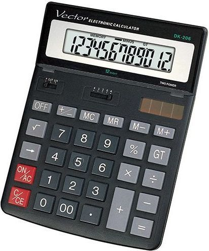 Kalkulator Casio VECTOR KAV DK-206 1