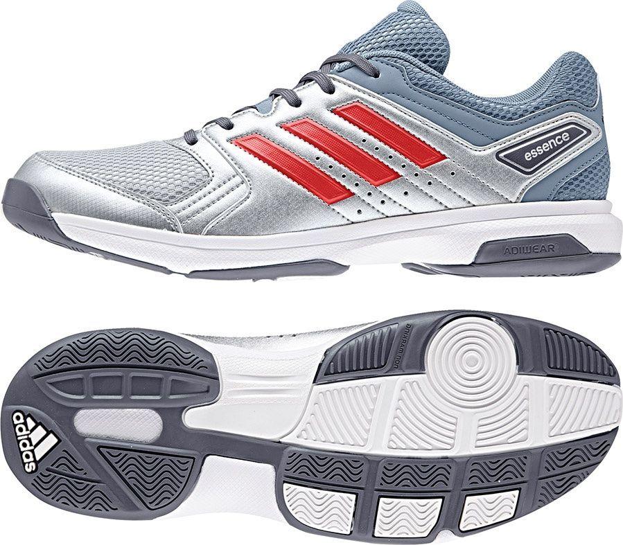 Adidas Buty m?skie Essence srebrno niebieskie r. 48 (BB6342) ID produktu: 4536029