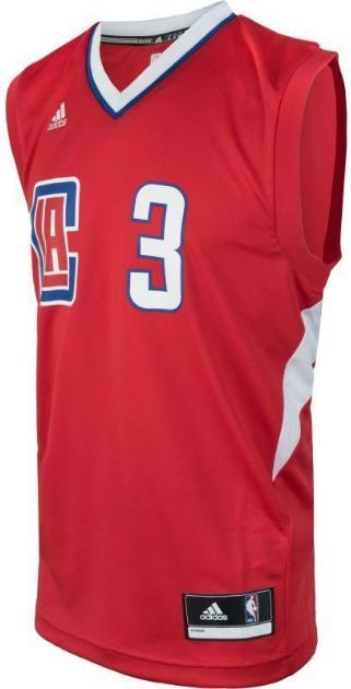 b99e7e515 Adidas Koszulka męska Replica Los Angeles Clippers Chris Paul czerwona r. M  (AT2527) w Sklep-presto.pl