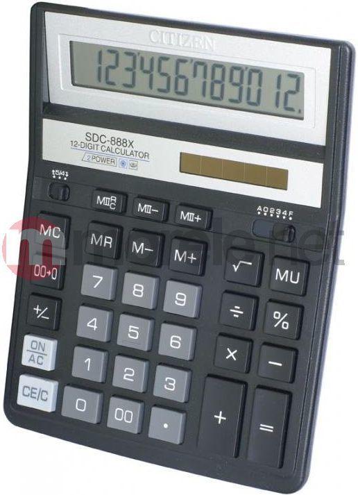 Kalkulator Citizen SDC-888XBK 1