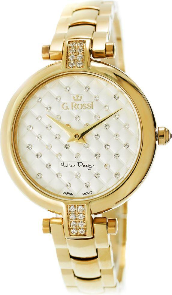Zegarek Gino Rossi damski Bresi złoty (11024B 3D1) ID produktu: 4547391