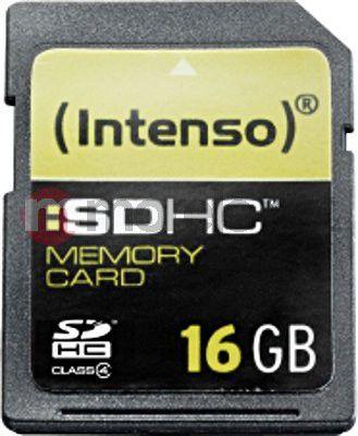 Karta Intenso SDHC 16 GB Class 4  (3401470) 1