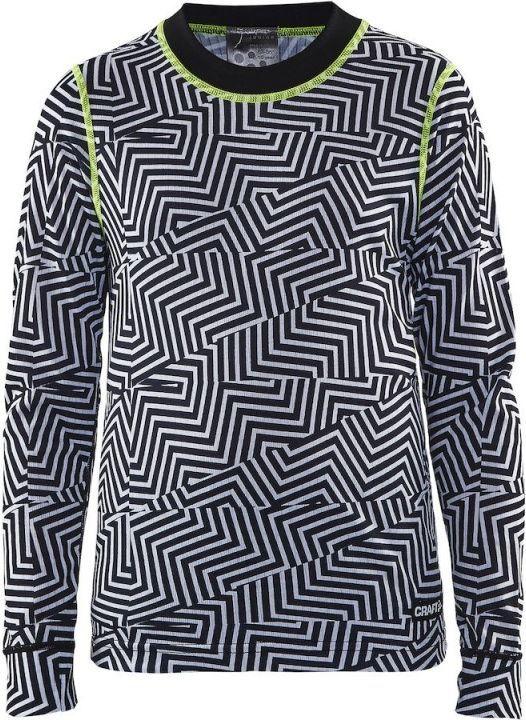 Craft Koszulka dziecięca Mix&Match Jr czarno biała r. 110 116 (1904518 9104) ID produktu: 4547865