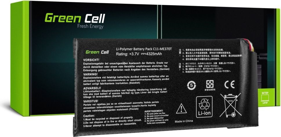 Green Cell Bateria C11-ME370T do Asus Google Nexus 7 1