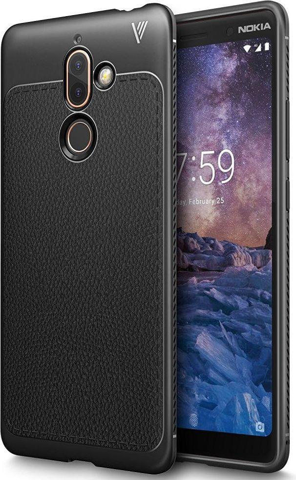 Tech-Protect TPULeather Nokia 7 Plus Black 1