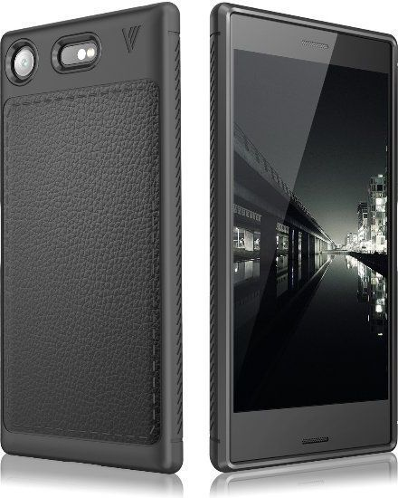 Tech-Protect TPULeather Sony Xperia XZ1 Black 1