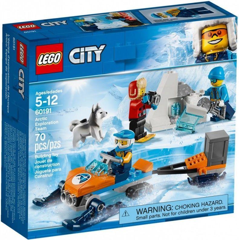 Lego City Arktyczny Zespół Badawczy 60191 W Hulahoppl