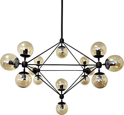 Lampa wisząca King Home Planetario industrial czarny  (5900168815506) 1