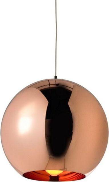 Lampa wisząca King Home Bolla nowoczesna industrial minimalistyczna glamour miedź  (5900168814257) 1