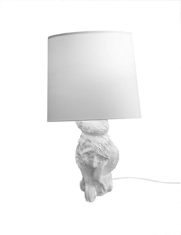 Lampa stołowa King Home Rabbit Up z abażurem  (5900168813922) 1