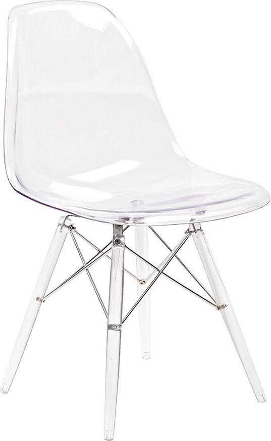 King Home Krzesło DSP ICE transparentne 1