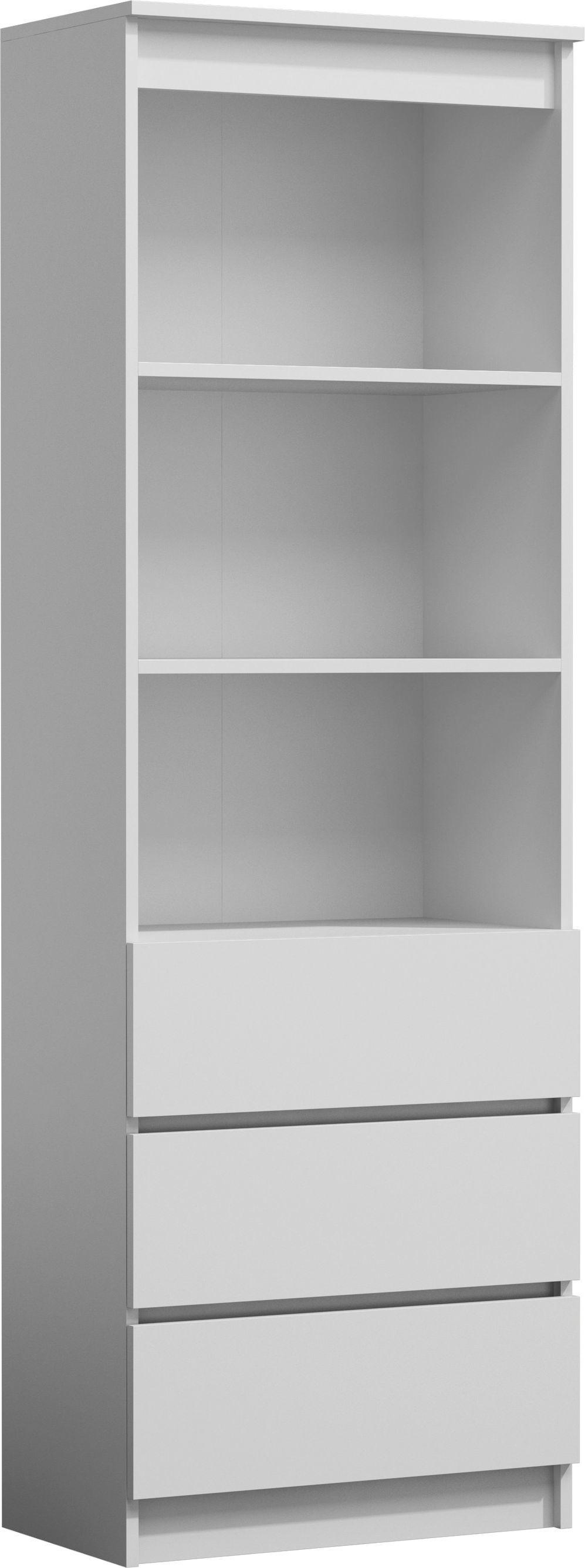 TopEshop Regał na książki biurowy RS-60 biały 1