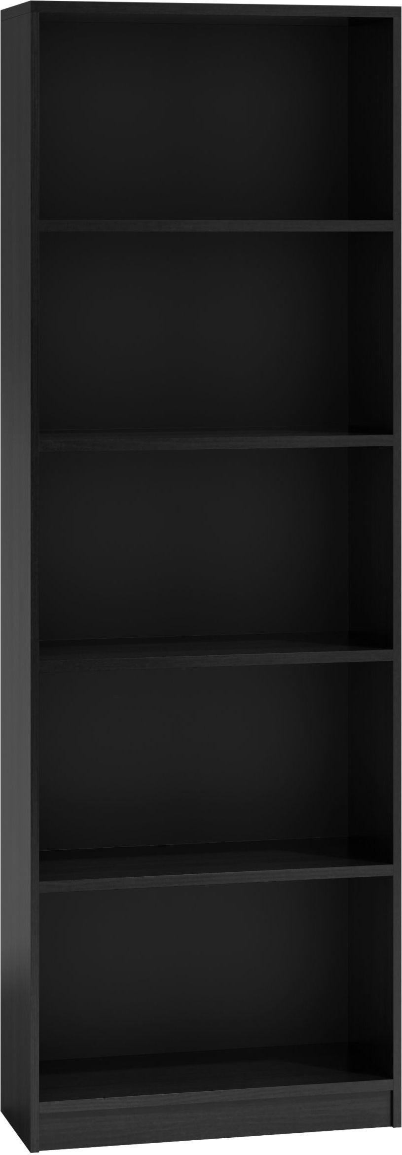 TopEshop Regał 40cm półka szafka książki segregatory czarny 1