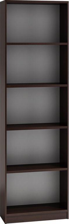 TopEshop Regał 40cm półka szafka książki segregatory wenge 1