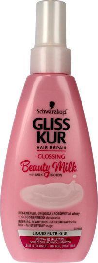 Schwarzkopf Gliss Kur Beauty Milk Odżywka-spray do włosów matowych i łamliwych Glossing 150ml 1