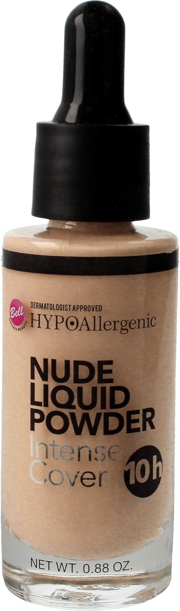 BELL Puder w płynie Nude Liquid Powder 02 Light Beige 25g 1