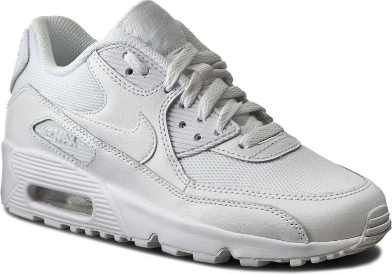Nike Buty damskie Air Max 90 Mesh Gs białe r. 35 12 (833418 100) ID produktu: 4566067