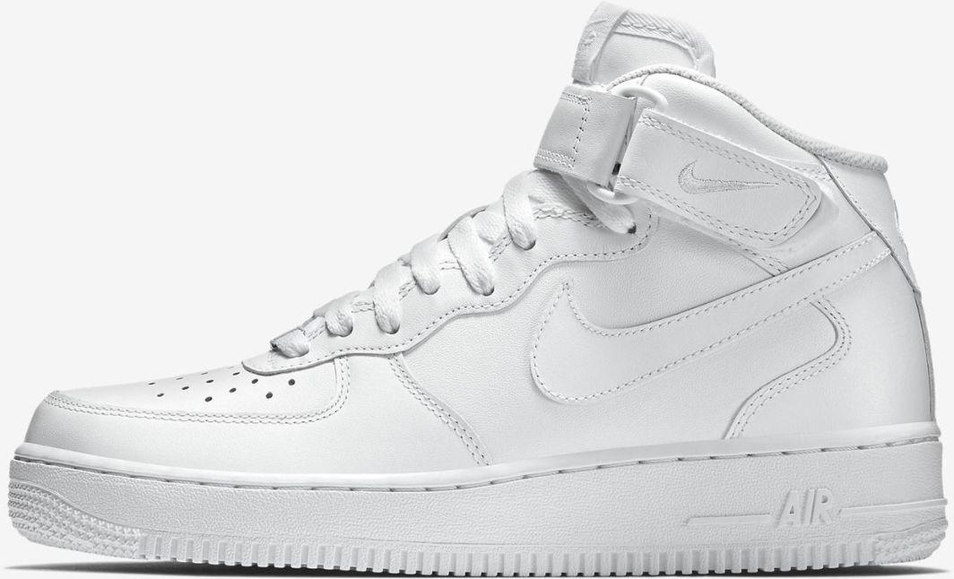 d74e4d5d93fa9 Nike buty męskie Air Force 1 Mid 07 315123-111 białe r. 45 1 2 (315123-111)  w Ubieramy.pl