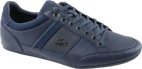 ładne buty sprzedaż online na wyprzedaży Lacoste Buty męskie Lacoste Chaymon 118 granatowe r. 41 (CAM00112S3) ID  produktu: 4567157