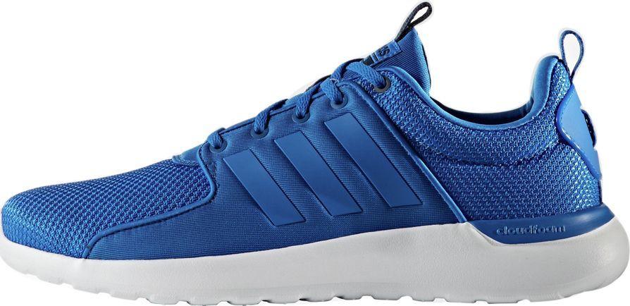 Buty sportowe męskie Adidas Cloudfoam Lite Racer niebieskie AW4028