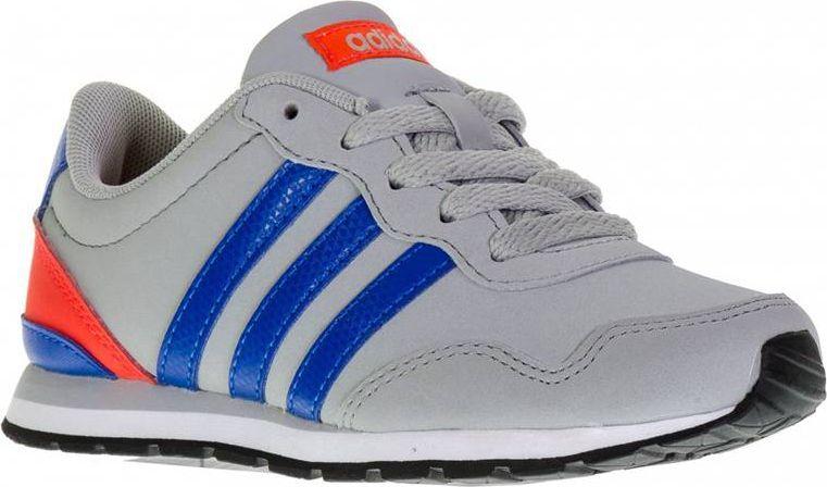 Adidas Buty dziecięce V Jog K szare r. 39 13 (AW4147) ID produktu: 4568196