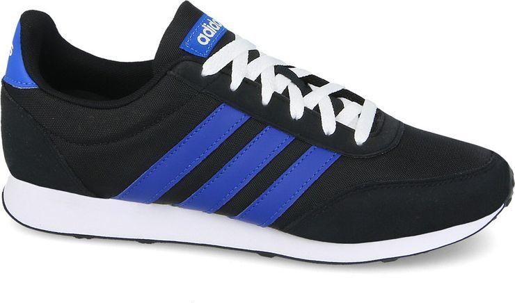 Adidas Buty męskie V Racer 2.0 czarno niebieskie r. 44 (DB0429) ID produktu: 4568229
