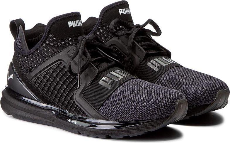 Puma Buty m?skie Ignite Limitless Knit czarne r. 42.5 (189987 02) ID produktu: 4568785