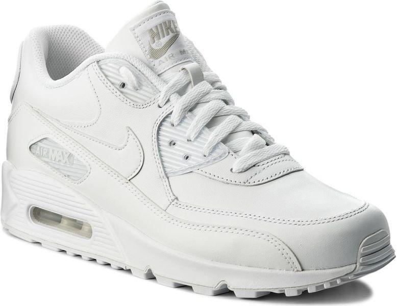 Nike Buty męskie Air Max 90 Leather białe r. 46 (302519 113)
