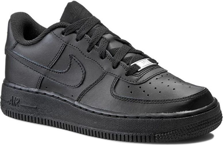 fc86728e Nike Buty dziecięce Air force 1 Gs czarne r. 37 1/2 (314192-009) w  Sklep-presto.pl