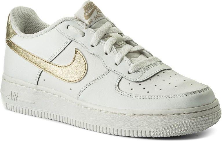 newest d020a 58afa Nike Buty dziecięce Air Force 1 GS białe r. 37 12 (314219-127) w  Sklep-presto.pl