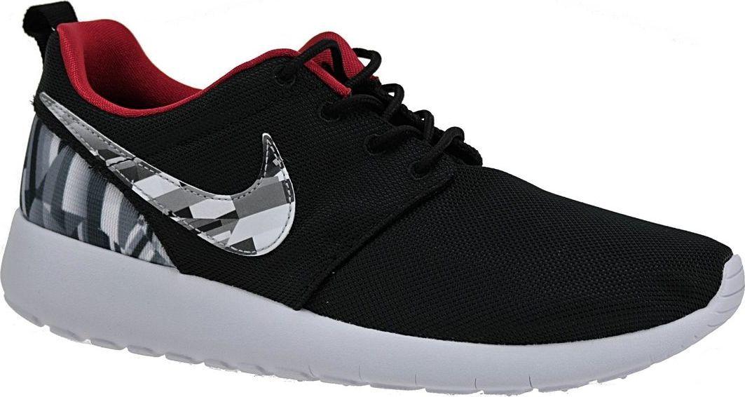 newest ba9ff 9323c Nike Buty damskie Roshe One Print GS czarne r. 37.5 (677782-012) w  Sklep-presto.pl