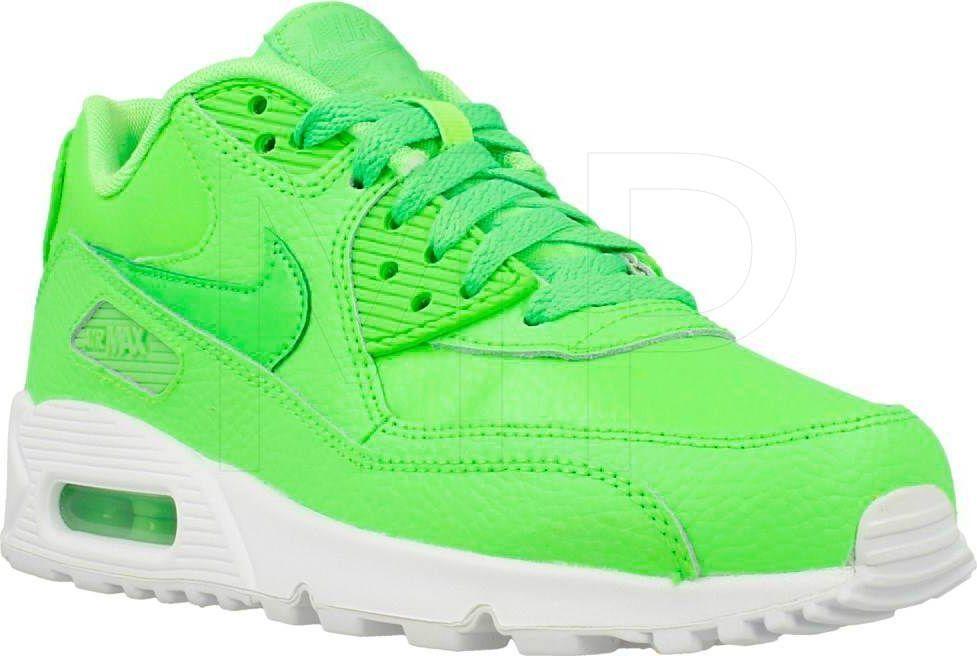 meet f5333 120a4 Nike Buty damskie Air Max 90 Ltr Gs zielone r. 38 (724821-300) w ...