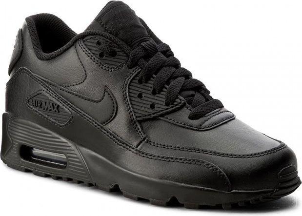 sprawdzić najlepiej online odebrane Nike Buty damskie Air Max 90 Lea Gs 833412-001 czarne r. 38.5 ID produktu:  4570647