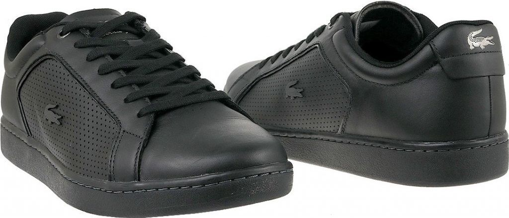 ogromna zniżka Nowe Produkty wyprzedaż Lacoste Buty męskie Carnaby Evo czarne r. 47 (SPM006102H) ID produktu:  4571515