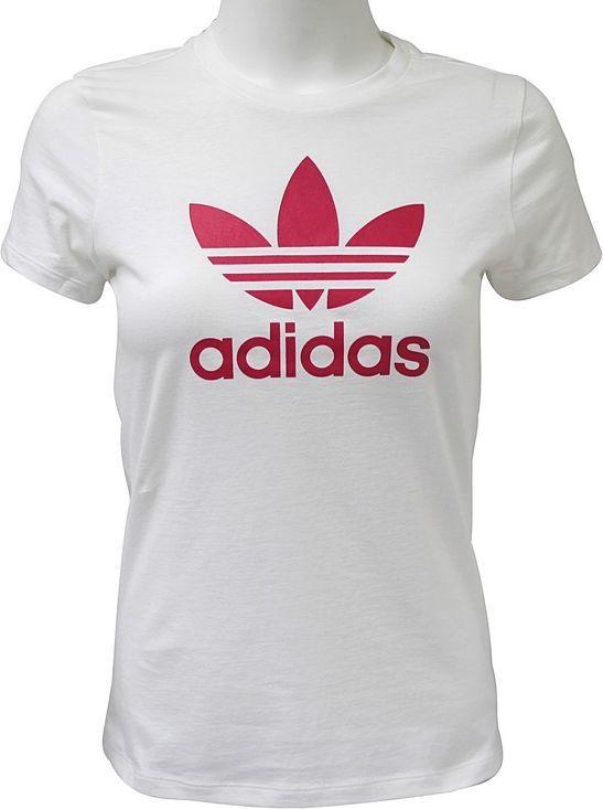 Adidas Koszulka dziewczęca Trefoil Tee biała r. 170 (BK2019) ID produktu: 4573387