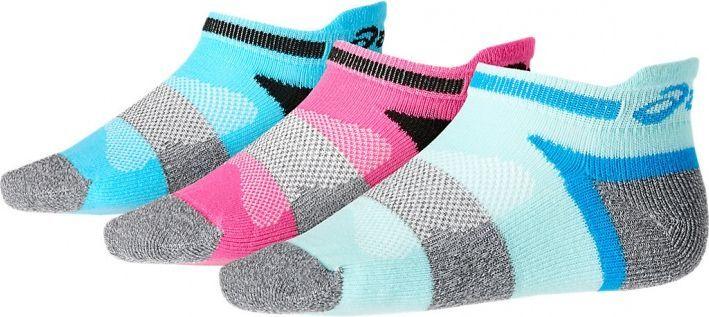 Asics Skarpety dziecięce 3PPK Lyte Youth Socks wielokolorowe r. 27-30 (132098-0286) 1