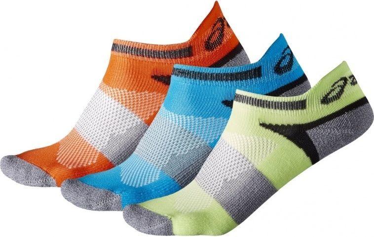 Asics Skarpety dziecięce 3PPK Lyte Youth Socks wielokolorowe r. 23-26 (132098-0823) 1