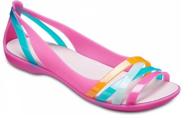 Crocs Sandały damskie Isabella Huarache 2 Flat różowe r. 3839 (204912 6NU) ID produktu: 4574459